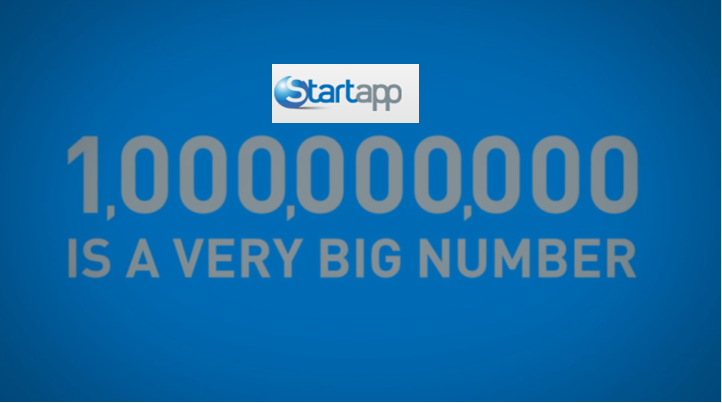 StartApp Hits the Billion Download Mark