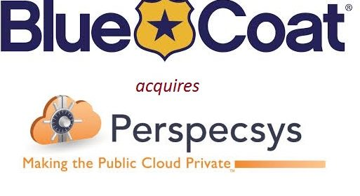Congrats to Blue Coat – PerspecSys buy is wise choice